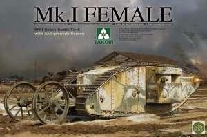 Takom 2033 Czołg Mk.I Female WWI with Anti-grenade Screen