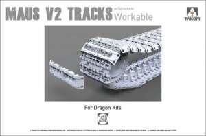Takom 2094 Maus V2 Tracks with sprockets for Dragon kits