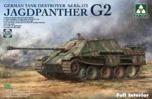 Takom 2118 Niszczyciel czołgów Jagdpanther G2 z wnętrzem