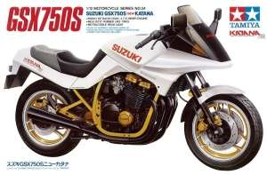 Tamiya 14034 Motocykl Suzuki GSX750S nowa Katana w skali 1-12