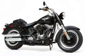 Tamiya 16041 Harley-Davidson FLSTFB Fat Boy Lo