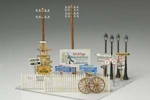 Tamiya 32509 Road sign set