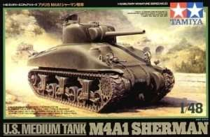 Tamiya 32523 U.S. Medium Tank M4A1 Sherman