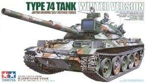 Tamiya 35168 JGSDF Type 74 Tank Winter Version