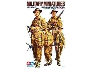 Tamiya 35223 British Infantry on patrol