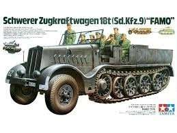 Tamiya 35239 Schwerer Zugkraftwagen 18t Famo