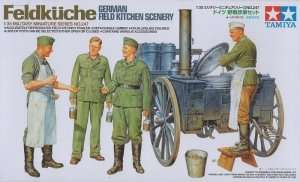 Tamiya 35247 German Field Kitchen Scenery