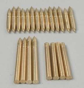 Tamiya 35258 Marder III M Brass 7.5cm Projectiles
