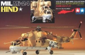 Tamiya 60705 Śmigłowiec Mil Mi-24 Hind skala 1-72