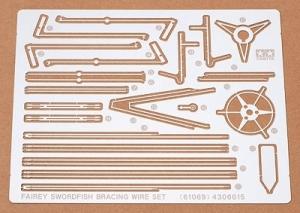 Tamiya 61069 Elementy fototrawione do samolotu Fairey Swordfish