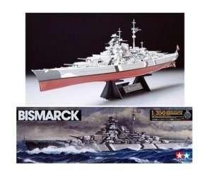 Tamiya 78013 model niemieckiego pancernika Bismarck