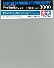 Tamiya 87171 gąbka ścierna 3000