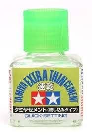 Tamiya 87182 Klej Extra Thin 40ml - szybkoschnący