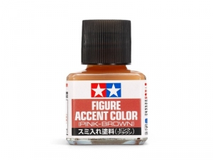 Tamiya 87201 Figure Accent Color - Pink-Brown 40ml