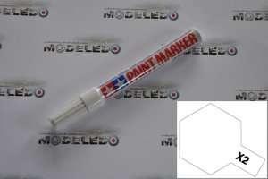 Tamiya 89002 Marker farba emaliowa X-2 White