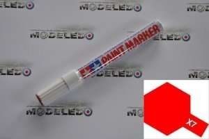 Tamiya 89007 Marker farba emaliowa X-7 Red