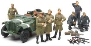 Tamiya 89767 Russian Field Car GAZ-67B w/Officers