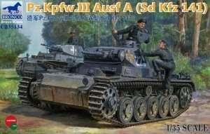 Tank Pz.Kpfw. III ausf.A - Bronco CB35134