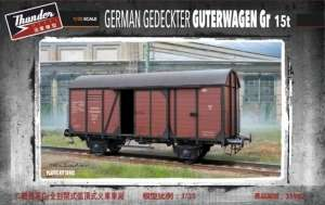 Thunder Model 35902 Niemiecki wagon Gr 15t