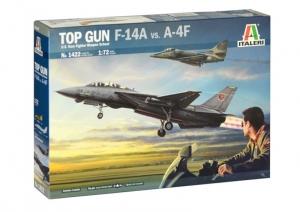 Top Gun samolot F-14A vs A-4F Italeri 1422 skala 1-72