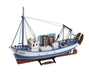 Trawler Mare Nostrum - Artesania 20100-N - drewniany statek skala 1-35