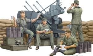 Trumpeter 00432 German Anti-Aircraft Gun Crew