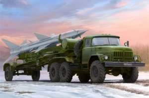 Trumpeter 01033 Russian Zil-131V towed PR-11 SA-2 Guideline