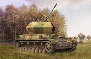 Trumpeter 01520 German 3.7cm Flak 43 Flakpanzer IV Ostwind