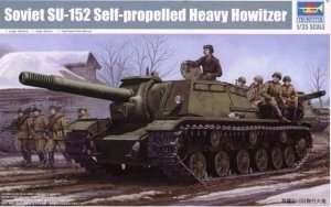 Trumpeter 01571 Soviet SU-152 Self-propelled Heavy Howitzer