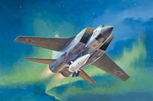 Trumpeter 01697 Samolot Mig-31BM z KH-47M2 skala 1-72
