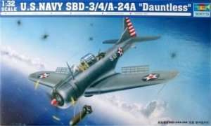 Trumpeter 02242 SBD-3/4/A Dauntless