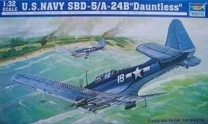 Trumpeter 02243 SBD-5/A-24B Dauntless