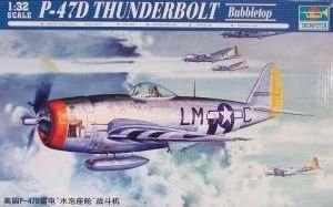 Trumpeter 02263 P-47D Thunderbolt Bubbletop
