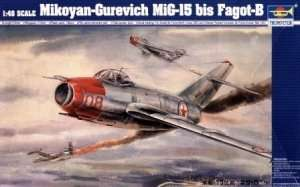 Trumpeter 02806 MiG-15 bis Fagot-b
