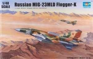 Trumpeter 02856 Russian MiG-23MLD Flogger-K