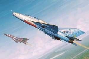 Trumpeter 02865 MiG-21 UM Fighter