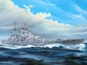 Trumpeter 05313 Krążownik Prinz Eugen 1945