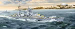 Trumpeter 05346 German Heavy Cruiser Blucher