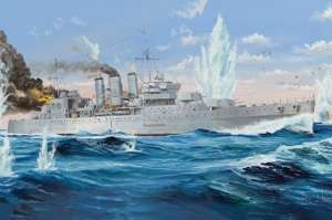 Trumpeter 05353 Krążownik HMS Cornwall skala 1-350