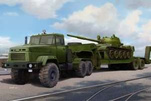 Ukraińska ciężarówka Kraz z naczepą Hobby Boss 85513