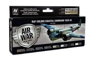 Vallejo 71148 Zestaw 8 farb - RAF Colors Coastal Command 1939-45