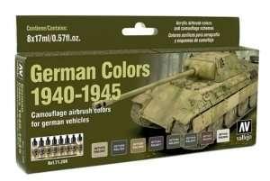 Vallejo 71206 Zestaw 8 farb - German Colors 1940-45