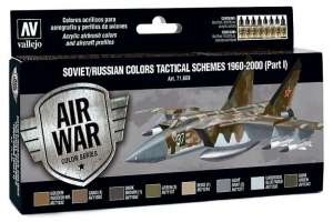 Vallejo 71609 Zestaw Soviet/Russian colors tactical schemes 1960-2000
