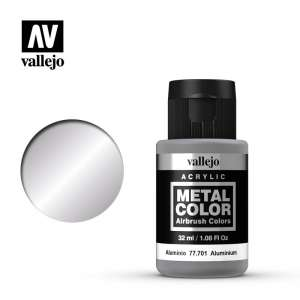 Vallejo 77701 Aluminium 32ml Acrylic Metal Color