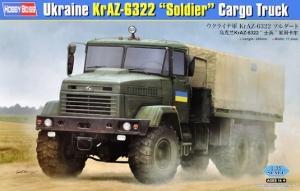Wojskowa ciężarówka KrAz 6322 Hobby Boss 85512