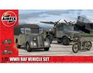 Zestaw pojazdów RAF w skali 1:72 Airfix 03311