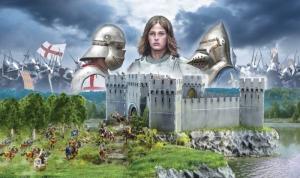 Zestaw bitewny Wojna 100-letnia Italeri 6185 zamek i figurki