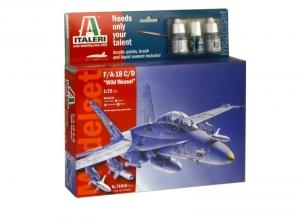 Zestaw modelarski samolot F/A-18 C/D Italeri 71016