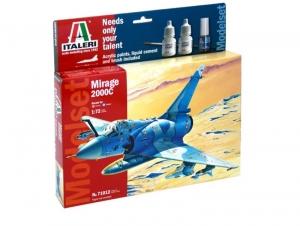 Zestaw modelarski samolot Mirage 2000C Italeri 71012
