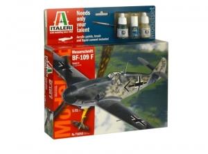 Zestaw modelarski Messerschmitt Bf-109F Italeri 71053